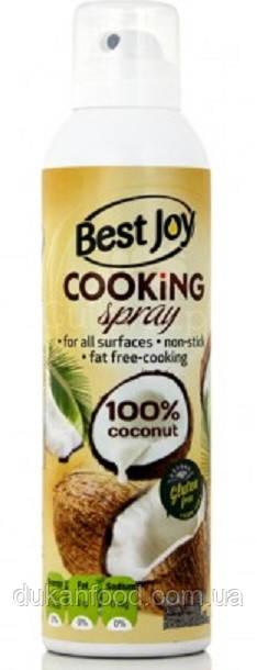 Кокосовое масло спрей для жарки Best Joy