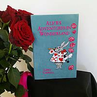 Клатч ручной работы в виде книги Alice