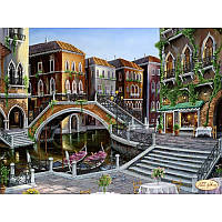 Схема для вышивания бисером Tela Artis Венецианскими улочками ТК-059