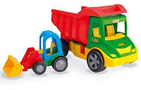 Детская машинка- грузовик с погрузчиком сериTruck Wader(вадер) 32210