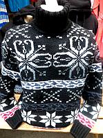 Мужской шерстяной свитер Pulltonic паук