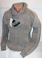 Зимний стильный мужской свитер BEVANDA