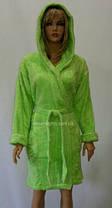Банный халат женский короткий, плюшевая махра, Турция, фото 3