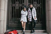 Мужская и женская длинная зимняя куртка MUSICK