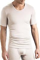Мужское (нательное) белье футболка Warm Underwear, Hanro Men (шелк+шерсть)