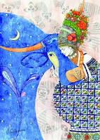 """Открытка """"Місячна корова"""", фото 1"""