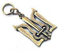 Кулон «Тризуб», з мечем, колір бронзовий, розмір кулона: 2.1х3.0см., символ ОУН, кулон Тризуб