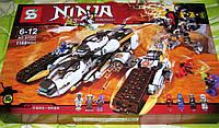 """Конструктор Ninja SY593 """"Внедорожник с суперсистемой маскировки"""""""