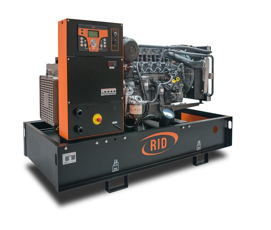 Трехфазный дизельный генератор RID 80 S-SERIES (70 кВт)