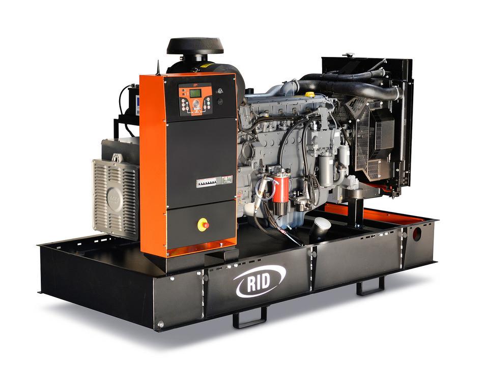 Трехфазный дизельный генератор RID 130 S-SERIES (130 кВА)