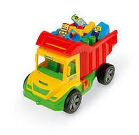 Детская машинка- грузовик Multi Truck с конструктором Wader (32330)