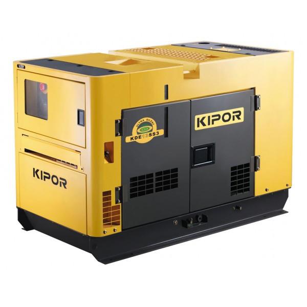 Трьохфазний дизельний генератор KIPOR KDE19STAO3 (15,4 кВт)