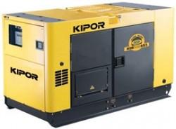 Однофазный дизельный генератор KIPOR KDE12STAО (9,5 кВт)