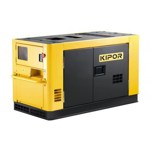 Однофазный дизельный генератор KIPOR KDE12STA (9,5 кВт)