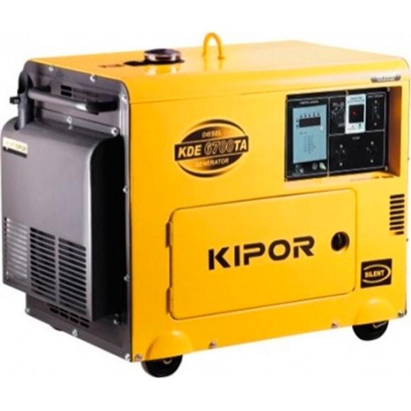 Однофазный дизельный генератор KIPOR KDА6700ТАО (5,5 кВт)