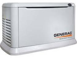 Однофазный газовый генератор Generac 5914 kW8 (8 кВт)