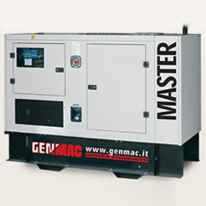 Трехфазная газовая электростанция Genmac MASTER G30GSA Natural Gas (31 кВа)