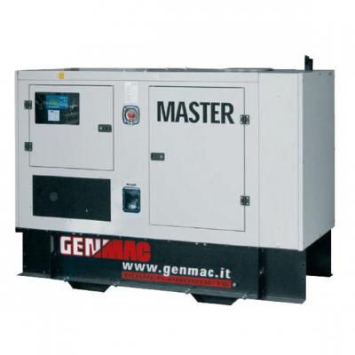 Трехфазная газовая электростанция Genmac MASTER G105GSA Natural Gas (102 кВа)