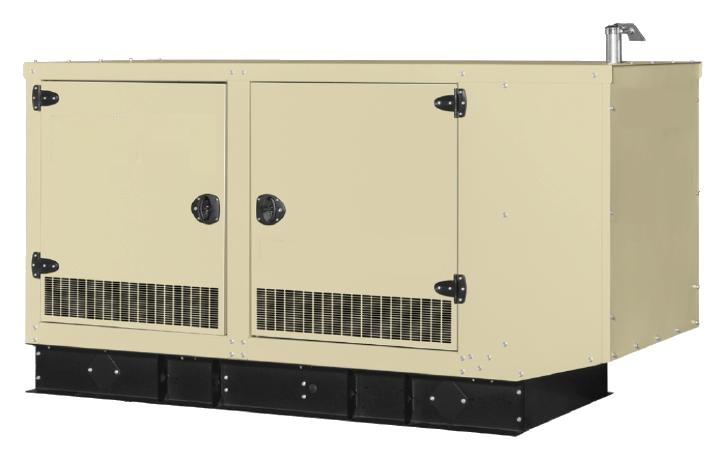 Трехфазный газовый генератор SDMO GZ180 (140 кВт)