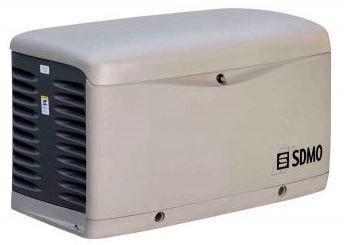 Однофазный газовый генератор SDMO RESA 14 EC (11 кВт)