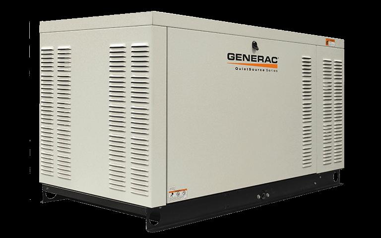 Трехфазный газовый генератор GENERAC QT 27 (21,6 кВт)
