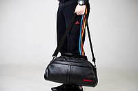 Спортивная сумка городская рибок черная унисекс