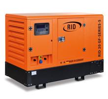 Трехфазный газовый генератор RID 20 GF-SERIES S (20 кВт)