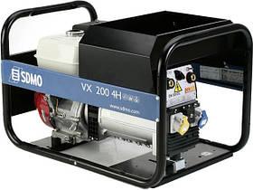 Однофазний бензиновий зварювальний генератор SDMO VX 200/4 H-S (4 кВт)