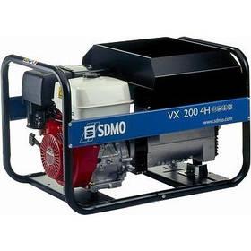Трифазний бензиновий зварювальний генератор SDMO VX 220/7,5 H-S (7,5 кВа)