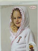 Халат детский махровый 2-4 года Softcotton