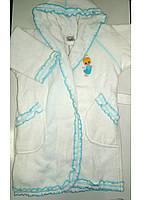 Халат махровый детский 2-4 года Softcotton