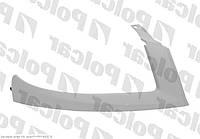 Накладка (ресничка) под фару правая 05-10 FIAT Doblo 01- не оригинал