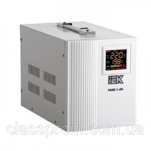 Стабилизатор напряжения Prime 0,5 кВА симист. перен. IEK