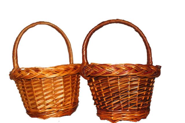 Плетеные корзинки для детей