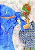 "Серия из 6 открыток О.Гайдамаки ""Тепло женских рук"""