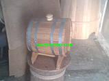Жбан дубовый горизонтальный 20л., фото 4