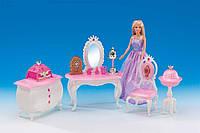Набор мебели для кукол Барби Gloria Комната принцессы