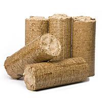 Брикет топливный древесный (евродрова)