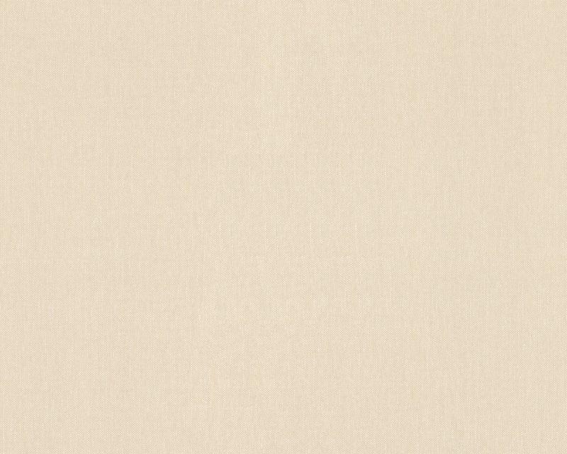 Обои моющиеся, песочного цвета, под ткань 211781.
