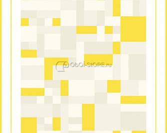 Обои с узором яркого желтого цвета  222510.
