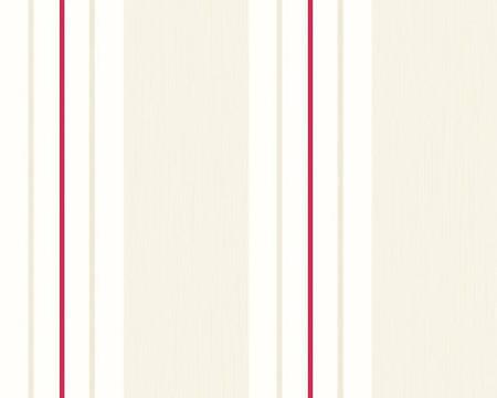 Обои светлые, в узкую яркую полоску 222633.