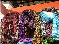 Шарфы женские, шарфы гипюр обшитый , фото 1