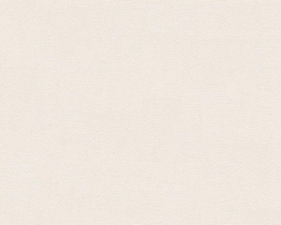 Світлі однотонні німецькі шпалери 291233, теплого пастельного кремового відтінку, миються вінілові на флизе