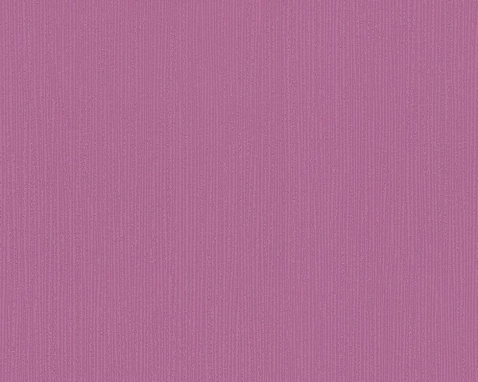 Однотонные ярко-сиреневые немецкие обои 292544 с малиновым оттенком, структурной виниловой поверхностью