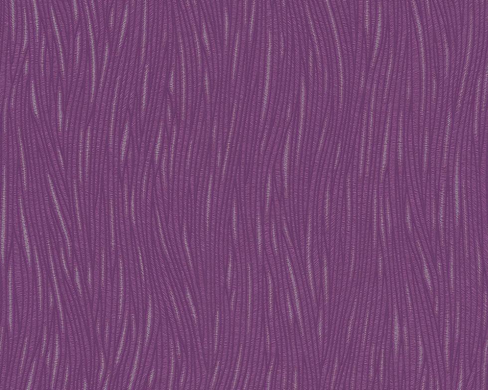 Однотонні фактурні німецькі шпалери 307323, насиченого яскраво пурпурного фіолетового кольору, що миються, вінілові