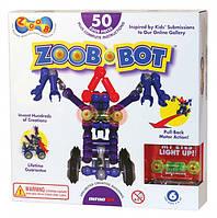 Конструктор ZOOB-BOT, с инерционным механизмом и световым эфектом
