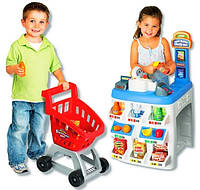 Набор супермаркет с тележкой 31621 Keenway