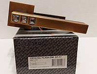 Ручка раздельная FUARO CRYSTAL FLASH DM CF-17 кофе, фото 1