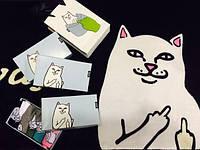 Подарочная упаковка носков RIPNDIP с котом