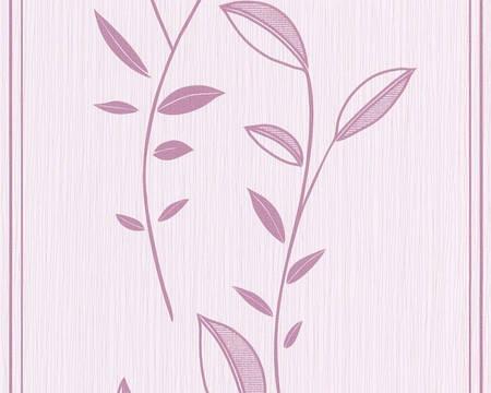 Обои моющиеся, с изображением ветвей с листьями 785640.
